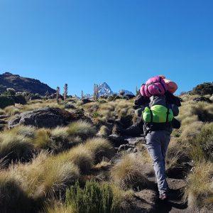 5 Days Mount Kenya Climbing