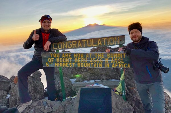 our varied hike takes us to the summit of mount meru 01